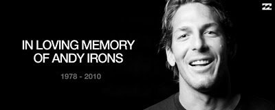 RIP ANDY IRONS