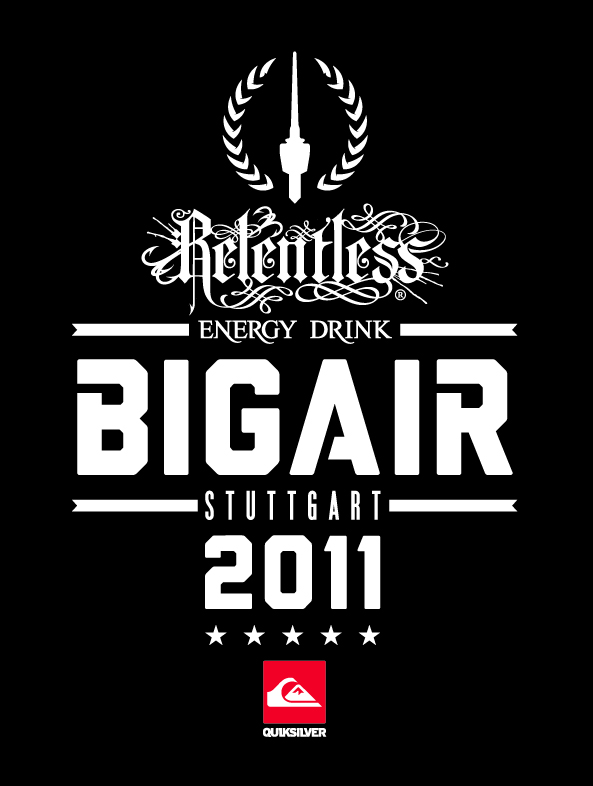 Relentless BIGAIR presented by Quiksilver \\ black