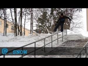 Snowboarder Blair McKinney Jibberish Cut
