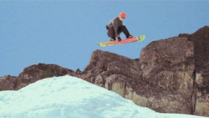 UP the ROAD: a video of summer snowboarding.