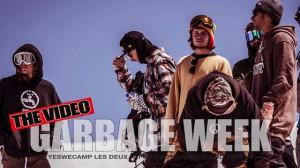 "Garbage Week during ""Yes We Camp!"" at Les 2 Alpes"