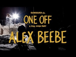 Quiksilver's Alex Beebe – One Off