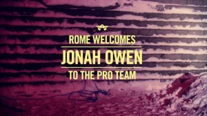 Rome SDS Welcomes Jonah Owen to the Pro Team