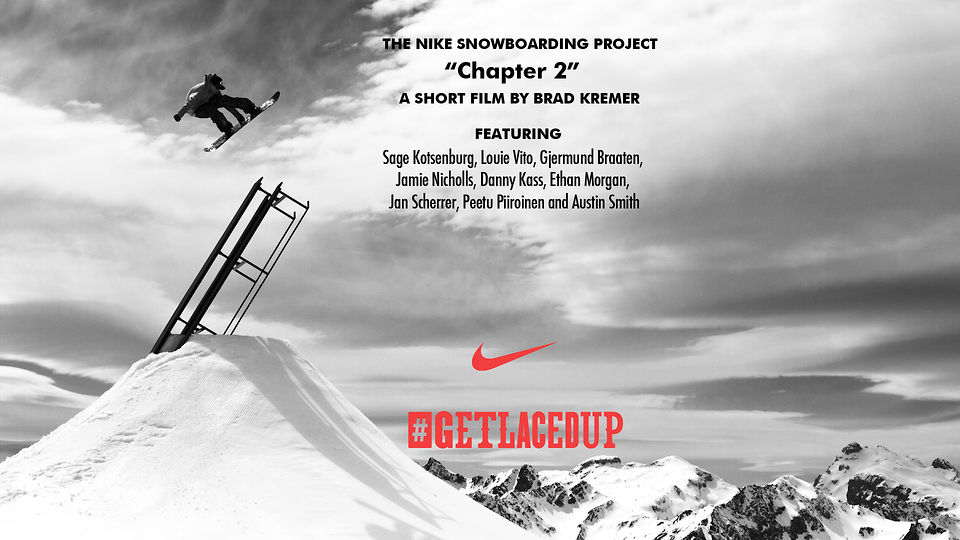 Nike Snowboarding Project - Chapter 2 by Brad Kremer