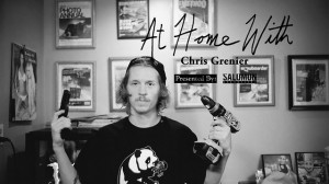 At Home with Chris Grenier