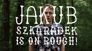 Jakub Szkaradek on Rough Snowboards