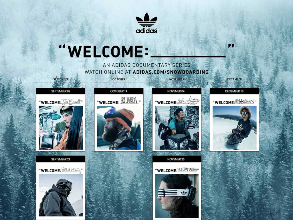 adidas Snowboarding - Year One Welcome Webisode